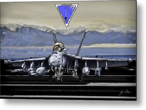 Metal Print featuring the digital art CVWP Color by Clay Greunke