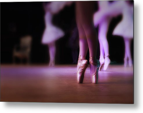 Ballet Dancer Metal Print featuring the photograph Dance Movement by Dr Feelgood ®