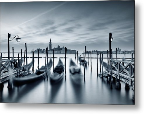 Dawn Metal Print featuring the photograph Dawn In Venice by Mammuth