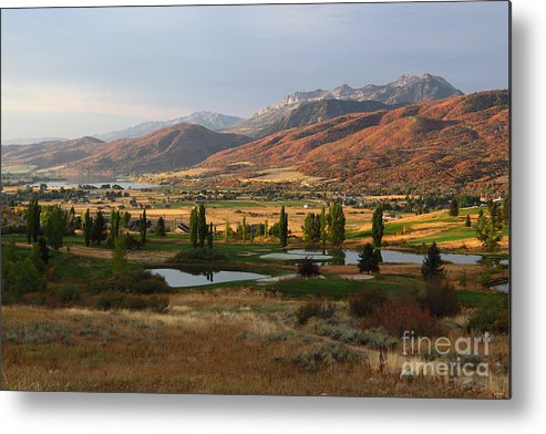 Ogden Valley Metal Print featuring the photograph Dawn's Early Light by Bill Singleton