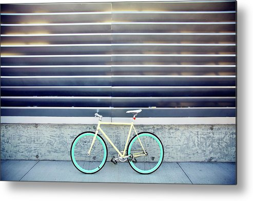 Tranquility Metal Print featuring the photograph Fixie by I Love Taking Photo