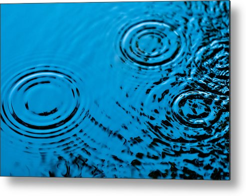 Rain Metal Print featuring the photograph Let It Rain by Debi Bishop