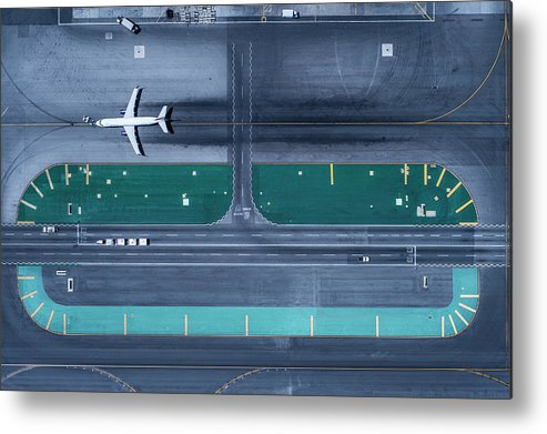 California Metal Print featuring the photograph Los Angeles International Airportlax by Michael H