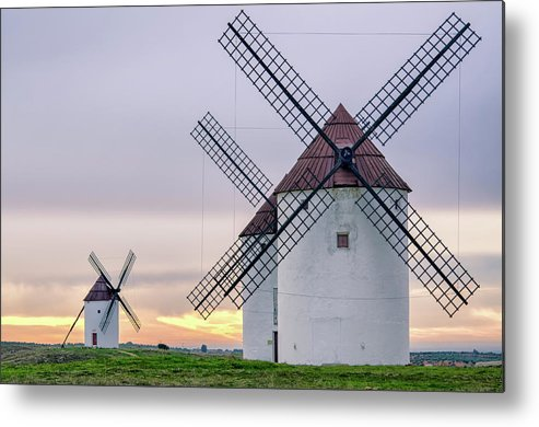Environmental Conservation Metal Print featuring the photograph Los Gigantes Del Quijote by Eddy Photo