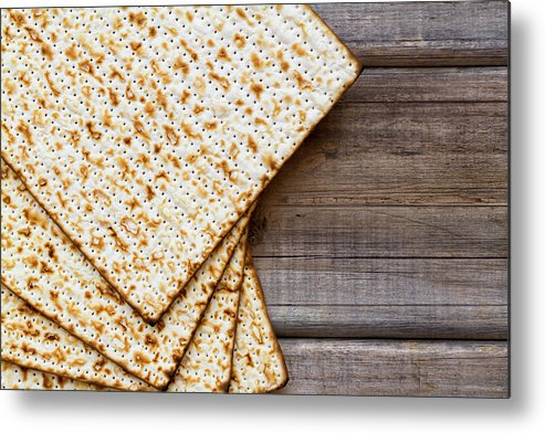 Celebration Metal Print featuring the photograph Matza Background by Vlad Fishman