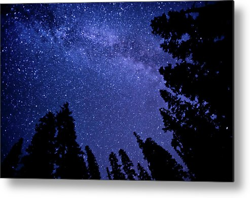 Scenics Metal Print featuring the photograph Milky Way by Lynn Midford Photography