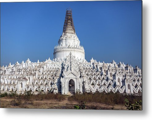Tranquility Metal Print featuring the photograph Mingun - Mandalay - Myanmar by Steve Allen