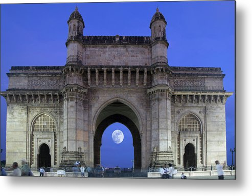 Arch Metal Print featuring the photograph Monument Entrance by Grant Faint