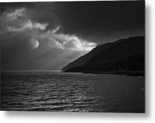 Scenics Metal Print featuring the photograph Moody Scottish Weather by Charles Briscoe-knight