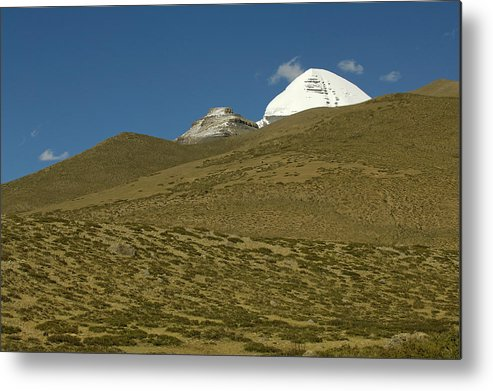 Chinese Culture Metal Print featuring the photograph Mount Kailash by Tanukiphoto