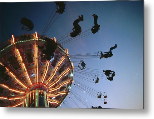 Event Metal Print featuring the photograph Oktoberfest Style Event In September by Thomas Winz