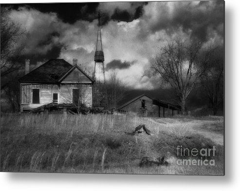 Farms Metal Print featuring the photograph Old Georgia Farm by Richard Rizzo