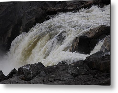 Metal Print featuring the photograph Overflow by Dervent Wiltshire