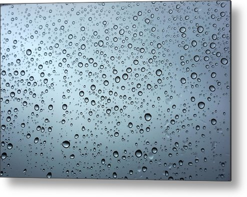 Horizontal Metal Print featuring the photograph Rainy Day Out by Nigel Killeen
