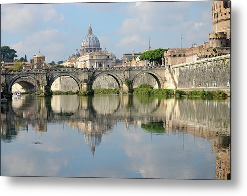 Arch Metal Print featuring the photograph Rome by Madzia71