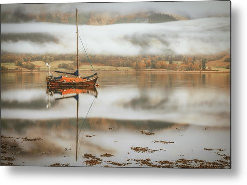 Maritime Metal Print featuring the photograph Sail by Adrian Popan