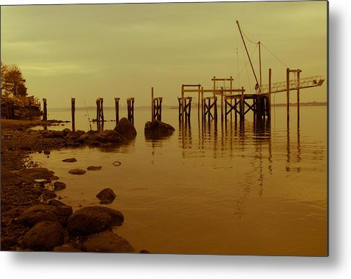 Water Metal Print featuring the photograph Sandy 10 by Arthur Sa