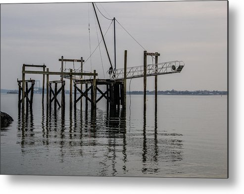 Water Metal Print featuring the photograph Sandy 9 by Arthur Sa