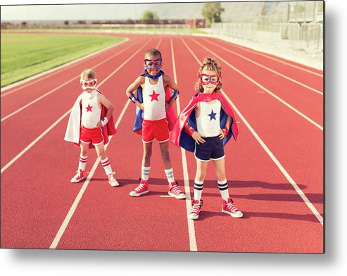 4-5 Years Metal Print featuring the photograph Speed Training by Richvintage