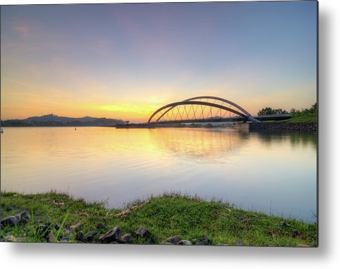 Tranquility Metal Print featuring the photograph Sunrise by Mohamad Zaidi Photography