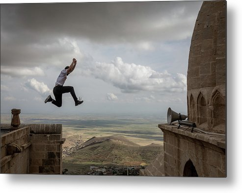 Lifestyles Metal Print featuring the photograph World Parkour Championships by Chris Mcgrath