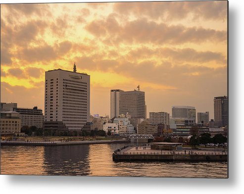 Tranquility Metal Print featuring the photograph Yokohama by I Like Camera And Life