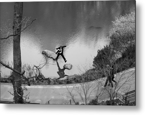 Jump Metal Print featuring the photograph Jump by Misha Dontsov