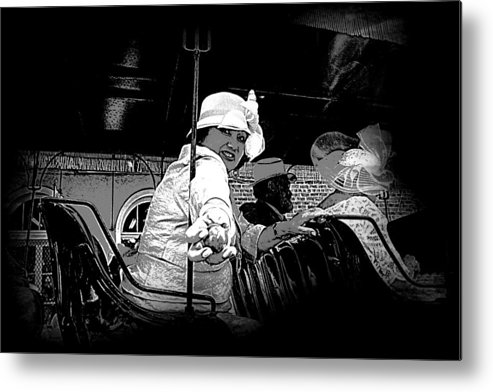 New Orleans Metal Print featuring the photograph Easter Egg Parade by Linda Kish
