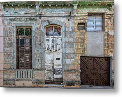 618 Or 276; Cuba Metal Print featuring the photograph 618 Or 276 by Erron