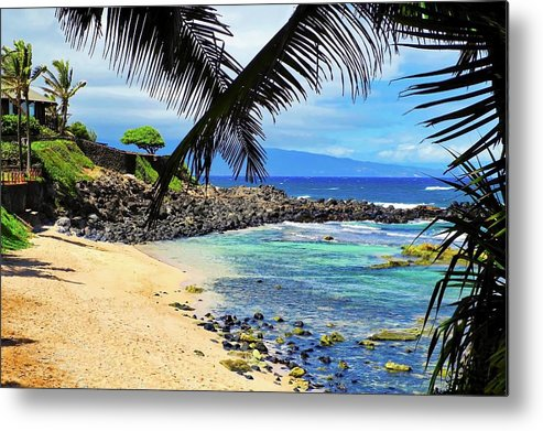 Maui Metal Print featuring the photograph A Stunning Maui Beach by Kirsten Giving