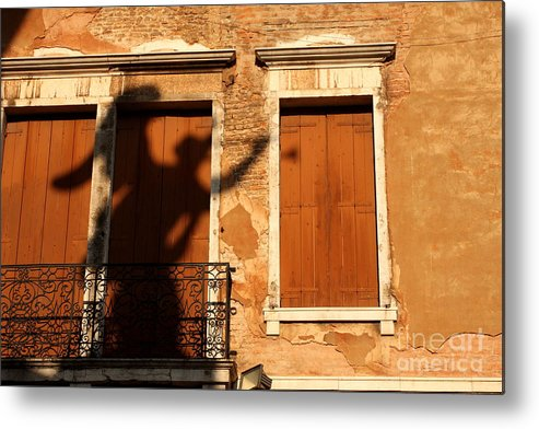 Venice Metal Print featuring the photograph Angel Shadow in Venice by Michael Henderson