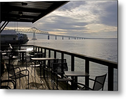 Scenic Metal Print featuring the photograph Astoria by Lee Santa