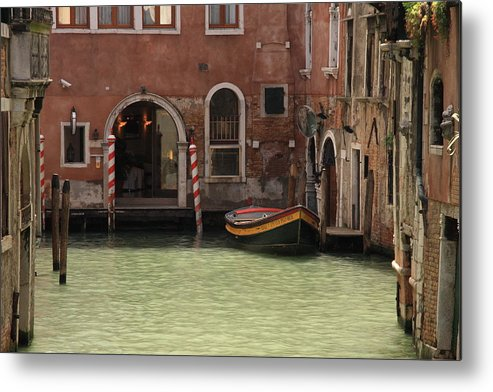Venice Metal Print featuring the photograph Basin In Venice by Michael Henderson