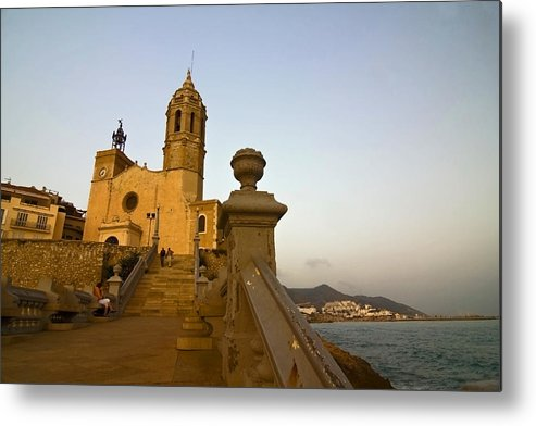 Church Metal Print featuring the photograph Church on the Spanish Rivera by Sven Brogren
