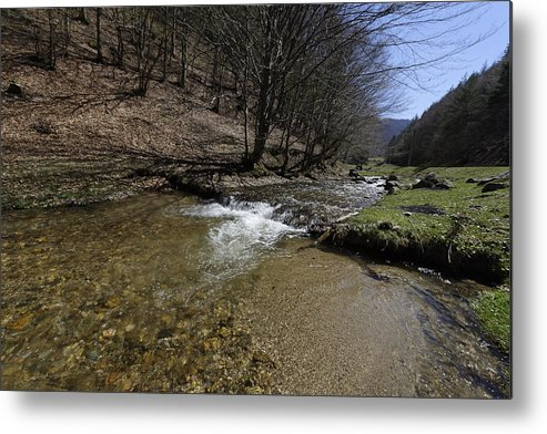 Above Metal Print featuring the photograph Clear water Shteaza near Rasinari by Adrian Bud