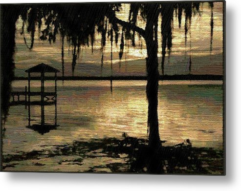 Florida Metal Print featuring the digital art Colee Cove by Scott Waters