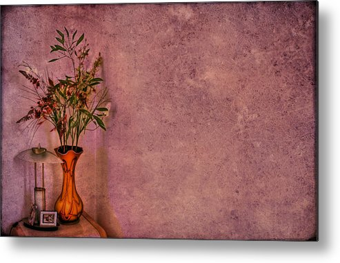 Flower Metal Print featuring the photograph Color My Senses by Evelina Kremsdorf