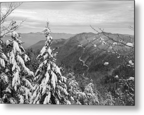 Great Smoky Mountains Metal Print featuring the photograph Cumberland Gap In The Smoky Mountains by Kristin Elmquist