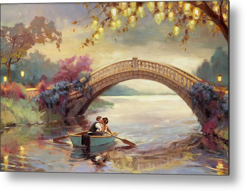 Romance Metal Print featuring the painting Forever Yours by Steve Henderson