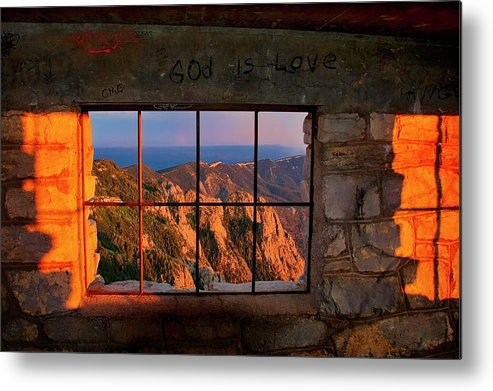 Nature Metal Print featuring the photograph God is Love by Zayne Diamond Photographic