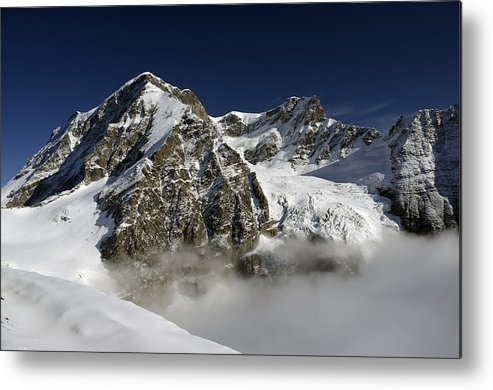 Grand Combin Metal Print featuring the photograph Grand Combin by Andrea Gabrieli