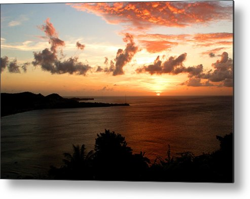 Sunset Metal Print featuring the photograph Grenadian Sunset II by Jean Macaluso