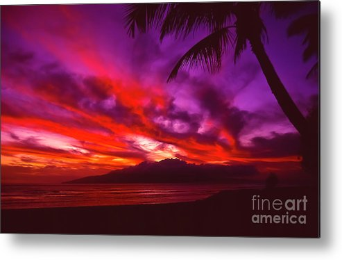 Landscapes Metal Print featuring the photograph Hand of Fire by Jim Cazel