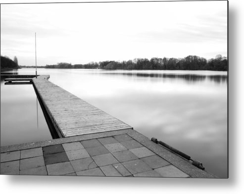 Sea Metal Print featuring the photograph Hannover II by Marc Huebner