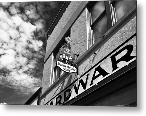 Fine Art Photography Metal Print featuring the photograph Hardware by David Lee Thompson
