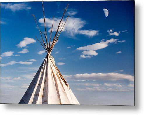 Tipi Metal Print featuring the photograph Hawi Tipi by Todd Klassy