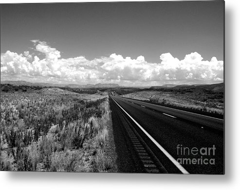Highway Metal Print featuring the photograph Highway by Kenneth Hess