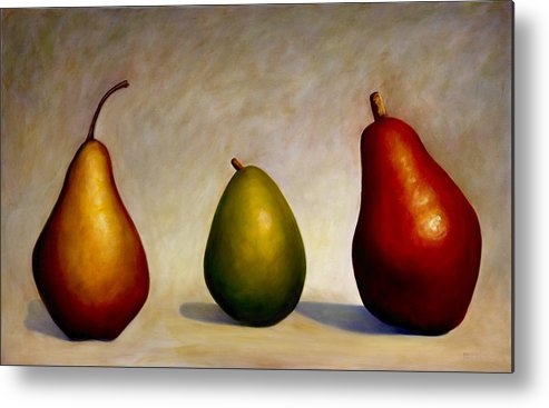 Still Life Metal Print featuring the painting In Repair by Shannon Grissom