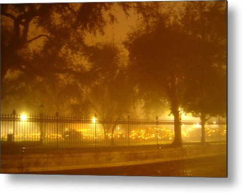 New Orleans Metal Print featuring the photograph Jackson Square New Orleans by Heather S Huston