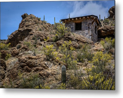 Gates Pass Metal Print featuring the photograph Mountain Overlook by Pat Scanlon